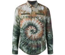 'Tie&Dye' shirt jacket