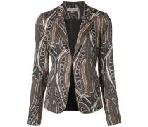 Blazer mit Print - women - Baumwolle/Polyimide