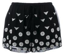 Shorts mit Stickerei - women - Viskose - 40