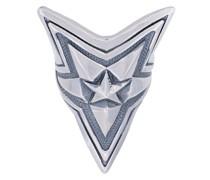 Extra großer 'Depp Star' Silberring