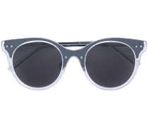 translucent circle sunglasses