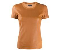 T-Shirt aus Leder