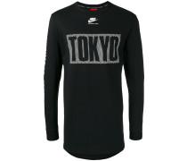 Langarmshirt mit Tokyo-Print - men - Baumwolle