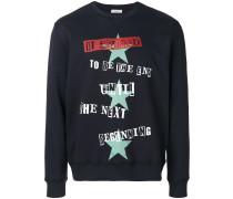 Sweatshirt mit Jamie-Reid-Print