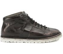 High-Top-Sneakers mit Distressed-Optik