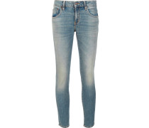 Skinny-Jeans aus Baumwolle