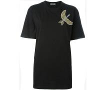 T-Shirt mit Perlenmotiv