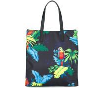 'B.Y.O.T Parrot' shopper tote