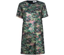 Florales Kleid mit rundem Ausschnitt