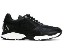 Sneakers mit gerippten Details - men