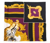 Tiger print foulard