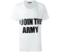 "T-Shirt mit ""#Join the Army""-Print"