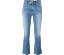 Bootcut-Jeans mit gekürztem Schnitt - women