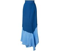 colour blocked skirt