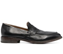 Penny-Loafer mit Cut-Out
