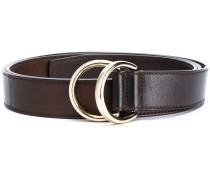 - ring buckle belt - men - Leder - M