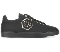 'No End' Sneakers - men - Leder/Metall