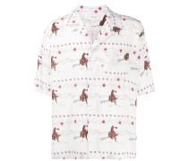Hemd mit Cowboy-Print