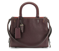 Handtasche mit Kontrastnaht