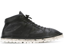 High-Top-Sneakers aus Leder
