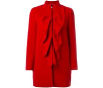 - Mantel mit Rüschen - women