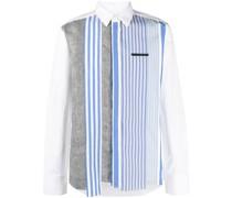 Hemd mit Patchwork-Streifen