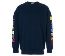 appliqué sweatshirt