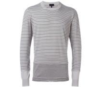 Sweater mit Kontraststreifen