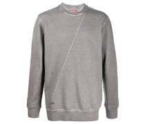 A-COLD-WALL* Sweatshirt mit diagonaler Naht