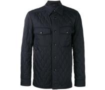 Gesteppte Hemdjacke - men - Polyester - 48