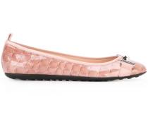 Ballerinas in Krokodillederoptik