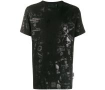 T-Shirt mit Dollar-Print