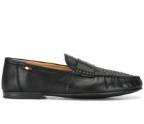 Penny-Loafer mit gewebtem Vorderblatt