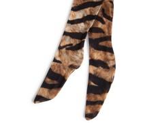Strumpfhose mit Tiger-Print