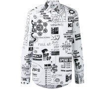 'Flyers' Hemd mit Print