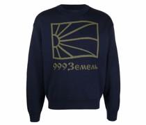 Pullover mit Logo-Print