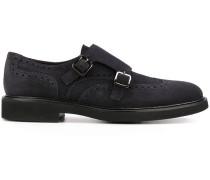 Monk-Schuhe mit doppelten Riemen