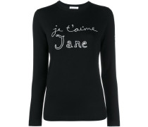 Je t'aime Jane Jumper