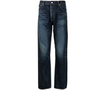 loose-cut jeans