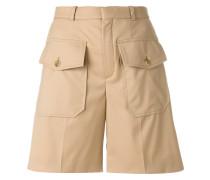 double flap pocket shorts