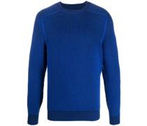 Gerippter Pullover