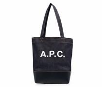 A.P.C. Handtasche mit Logo-Print