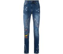 'Looney Tunes' Skinny-Jeans