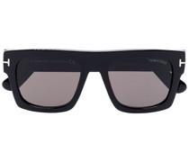 Eckige FT0711 Sonnenbrille