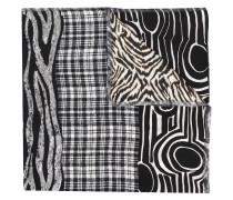Schal mit Print-Mix