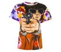 T-Shirt mit illustrativem Print