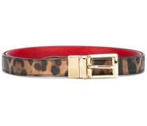 - Gürtel mit Leoparden-Print - women - Leder - 75
