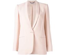 matte single-button blazer - women