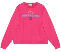 "Sweatshirt mit "" Band""-Print"