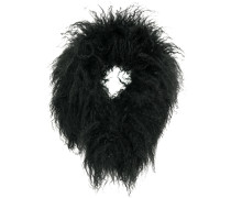 fur neck scarf